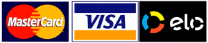 Aceitamos cartões de crédito